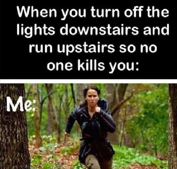 Because we've all been there. May the odds forever be in your favor.