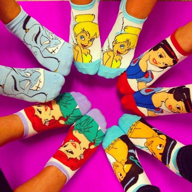 Yes!!! Disney socks!! I'll take all of them, please :)