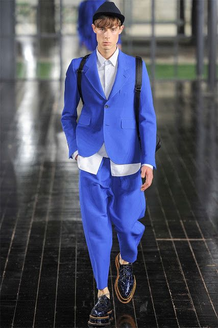 The Style Examiner: Menswear trend for spring/summer 2014: all things blue | Blues Brothers | mens blues #spring #trends #mens #blues