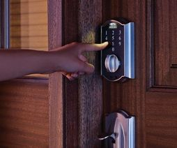 Electronic Deadbolts: Safe and Secure:http://blog.realestatebook.com/2016/10/06/electronic-deadbolts-safe-secure/