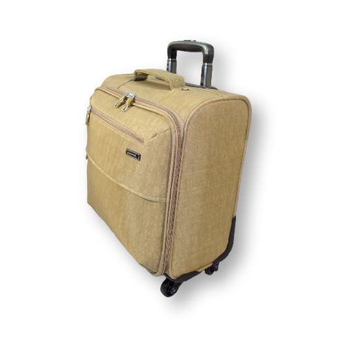 4-х колёсный, малый чемодан Asiapard 9107 (17 дюймов) ручной клади. Разрешается брать в самолет. Чаше всего применяется для поездок на небольшой срок (7 дней), для тех у кого скромные потребности в гардеробе или любителей путешествовать налегке. #travel #luggage #Laptop