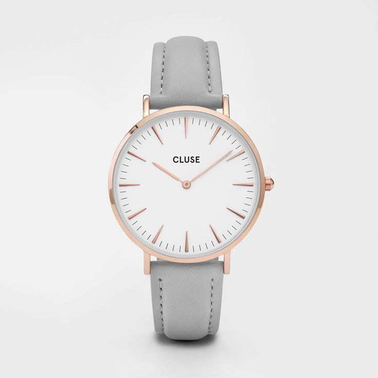 La Bohème Rose Gold White/Grey Amoureuse