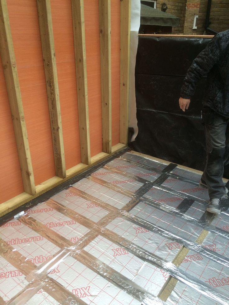 Insulation to floor