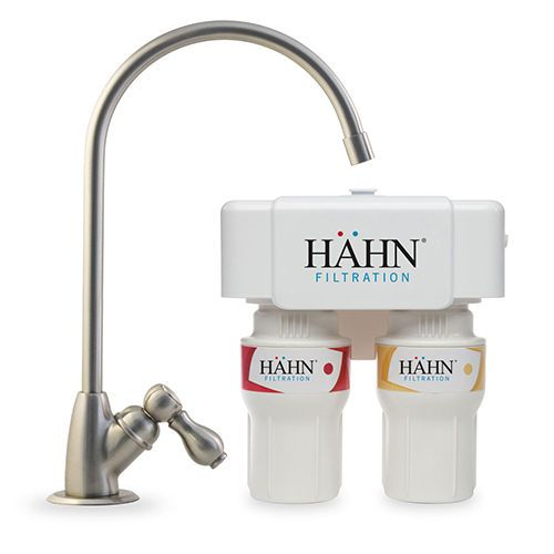 Hahn 2-Stage 450 Gallon Undercounter Water Filtration System