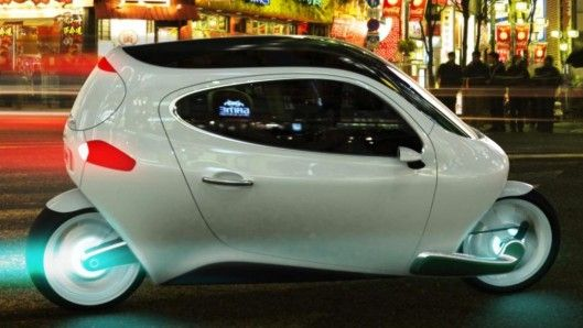 The C-1 is a proposed fully-electric and fully-enclosed self-balancing motorcycle.want
