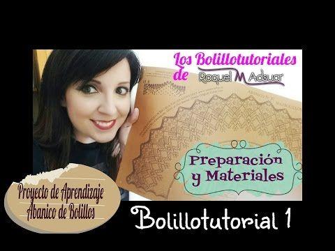 Abanico nº 37 de Maxbolillos. Bolillotutorial 1: Preparación y materiales…