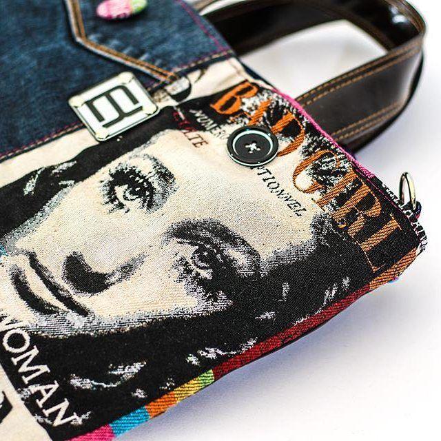 #norakocziszky #handmade #bag #unique #colors #badgirl