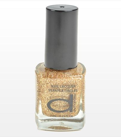 Golden Dynamite Nail Polish, perfect for the Holidays!