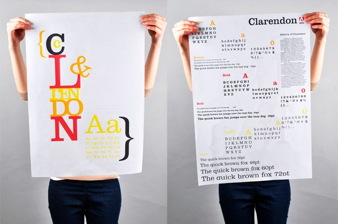 Type specimen sheet - Paula Kavanagh-Dunne