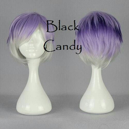 Pixie - Black Candy Fashion Wig - £16