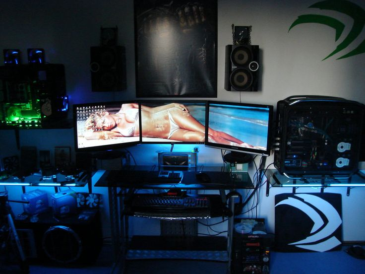 79 best man cave images on pinterest | gaming rooms, gaming setup