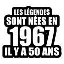 La vie commence à cinquante, 1967 la naissance des légendes.