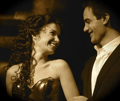 Sierra Boggess and Ramin Karimloo from the 25th anniversary of The Phantom of the Opera at the Royal Albert Hall.