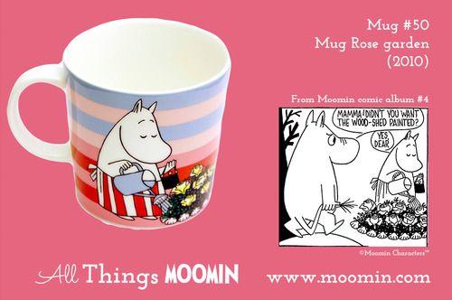 Moomin.com - Moomin mug Rose garden / Rosehagen / Summermug / Sommerkopp 2010