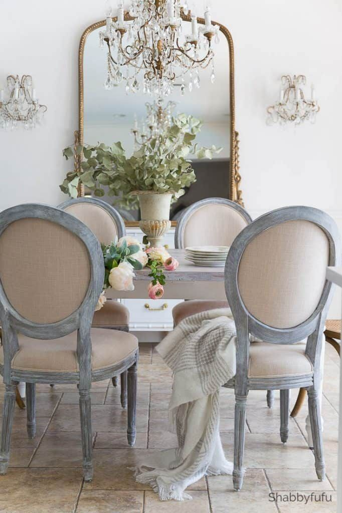 French Style Dining Room Decorating Details Diningroom