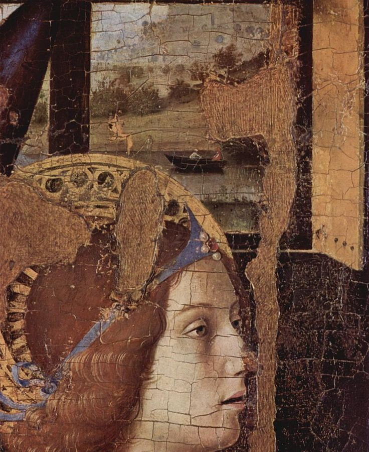 Antonello da Messina, Annunciation, detail, 1474 Palazzo Bellomo Museum, Syracuse, Italy