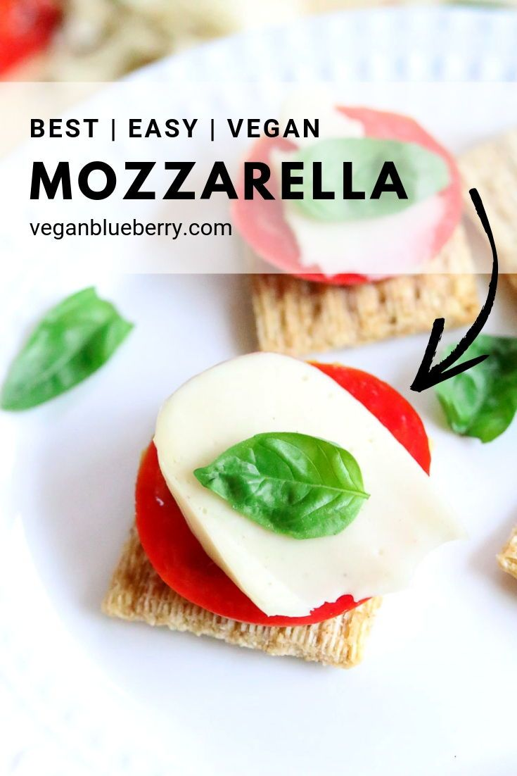 Make The Best Homemade Vegan Mozzarella In A Blender With This Quick And Easy Vegan Chees Vegan Cheese Recipes Easy Vegan Cheese Recipe Vegan Breakfast Recipes
