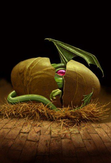 Well, I think this is one special baby. ♥    Copyright by Paul Youll ... (from http://www.facebook.com/FairiesDragonsAndOtherMythologicalCreatures )