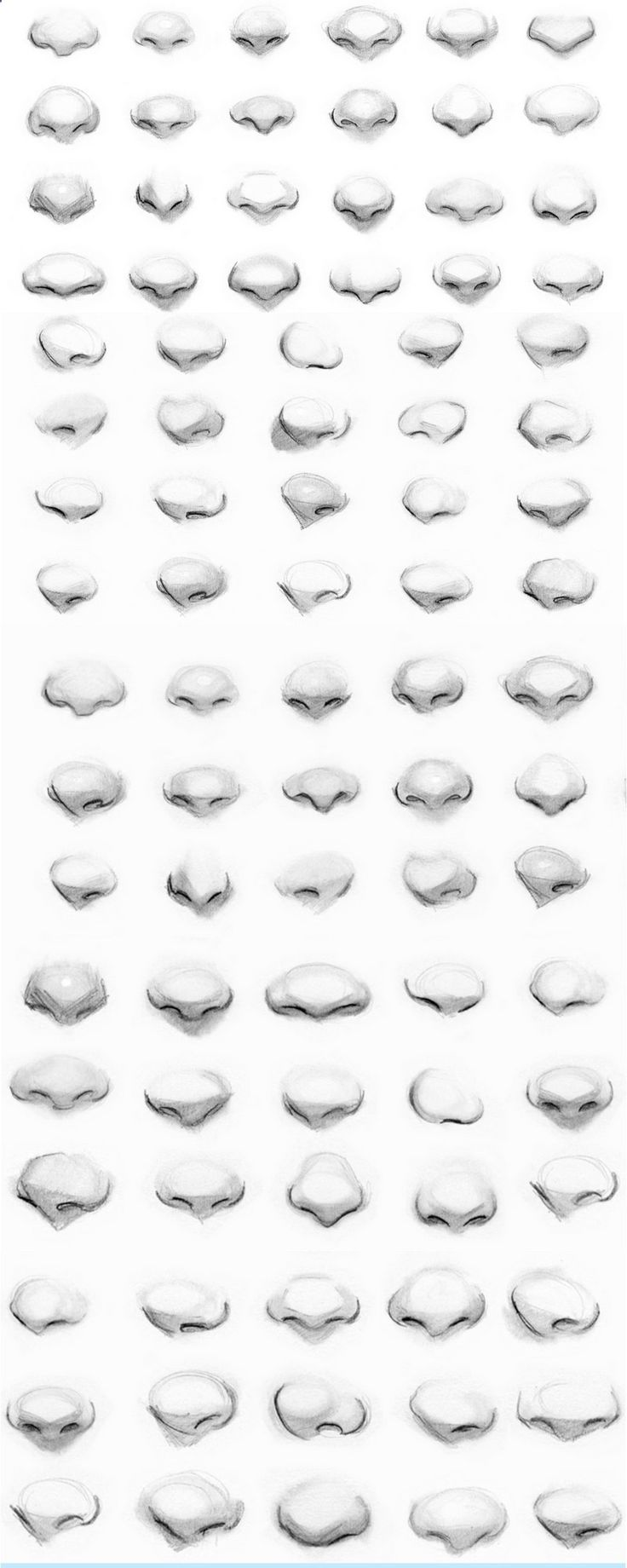 how to draw a nose step by step youtube