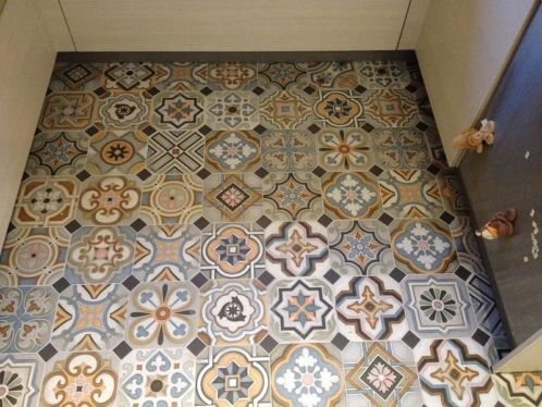 25 best Bathroom images on Pinterest Bathroom, Bathrooms and Tiles - fliesenspiegel küche überkleben