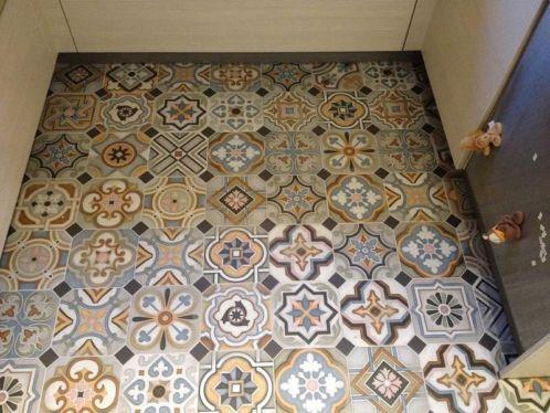 17 beste idee n over marokkaanse tegels op pinterest marokkaans patroon marokkaanse badkamer - Tegelvloer patroon ...