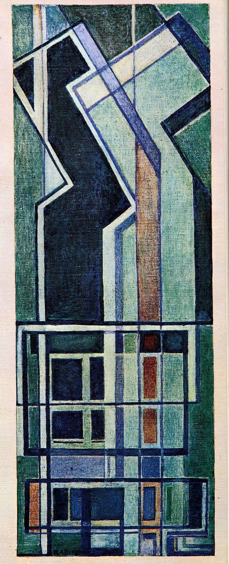 Mario Radice, Composizione R.S. 114 az., 1963