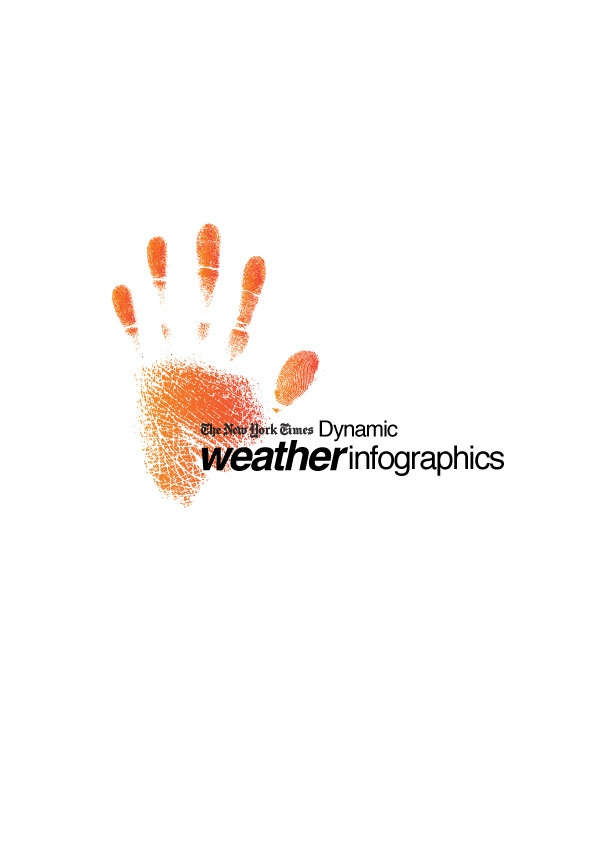 Dynamic Weather Infographics