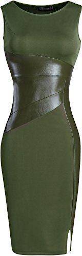 jeansian Women's Faux Leather Sleeveless Dress WKD227 Arm... https://smile.amazon.com/dp/B01N322P4B/ref=cm_sw_r_pi_dp_x_xO4VybK9931H1