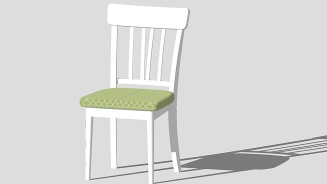 chair, silla, стул - 3D Warehouse