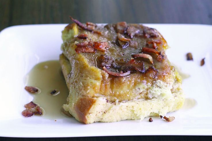 Baked French Toast with Bacon Crumble
