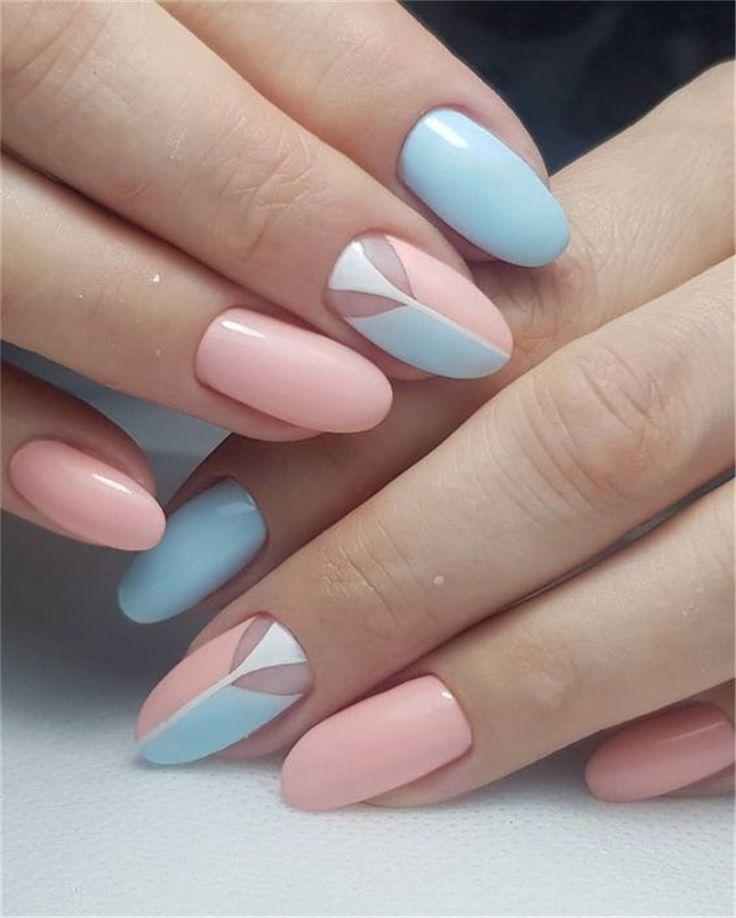 70 modieuze acryl amandel nagel ontwerpen voor meisjes om te proberen – pagina 3 van 70