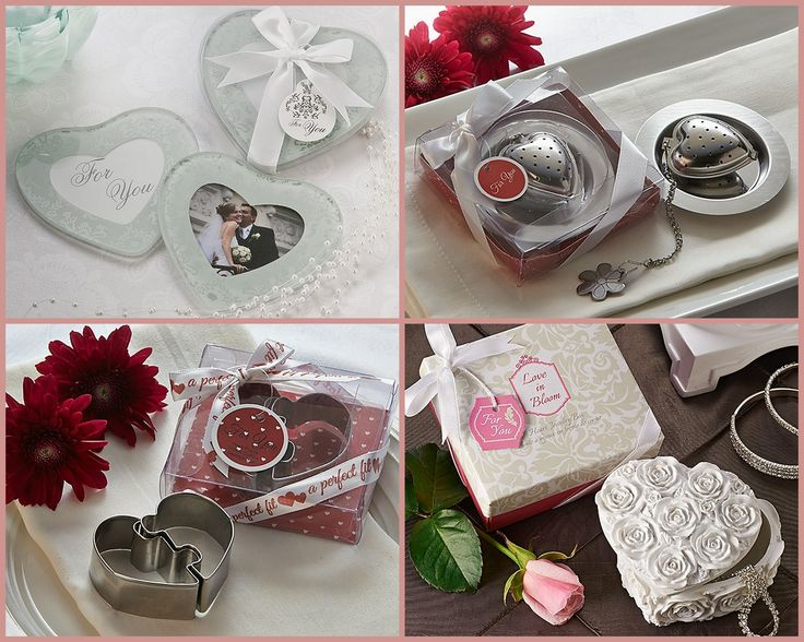 Heart Wedding Favors from HotRef.com