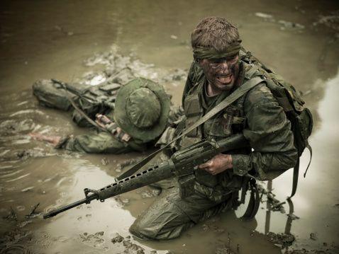 Korean war graphic combat footage