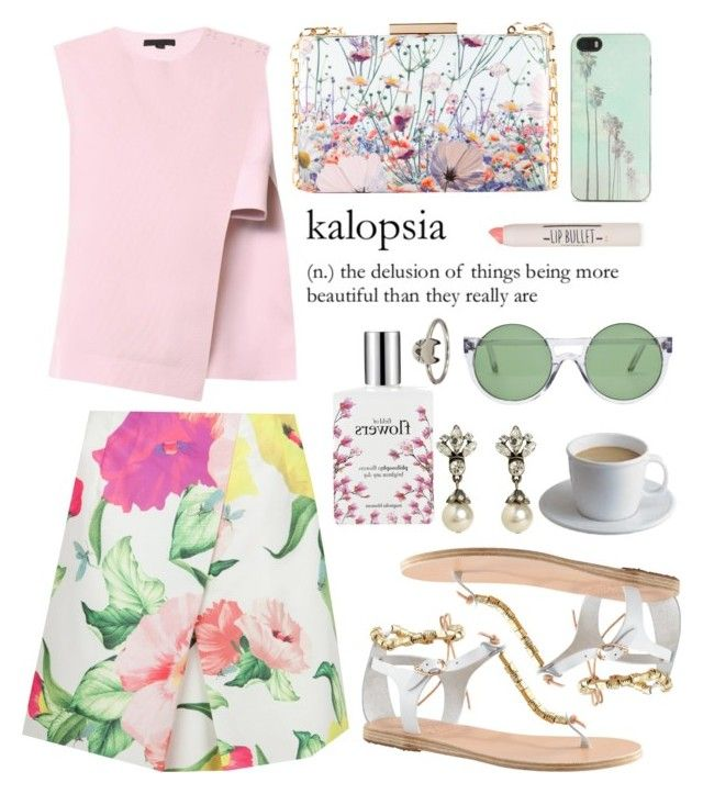 """""""Glorious we transcend into a psychedelic silhouette."""" by istylista ❤ liked on Polyvore"""