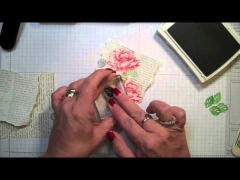 Creating wtih Kimberly-Working with Gesso - YouTube