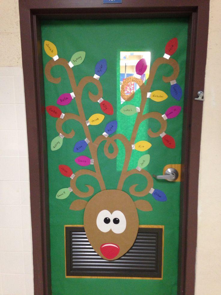 Christmas door 2014