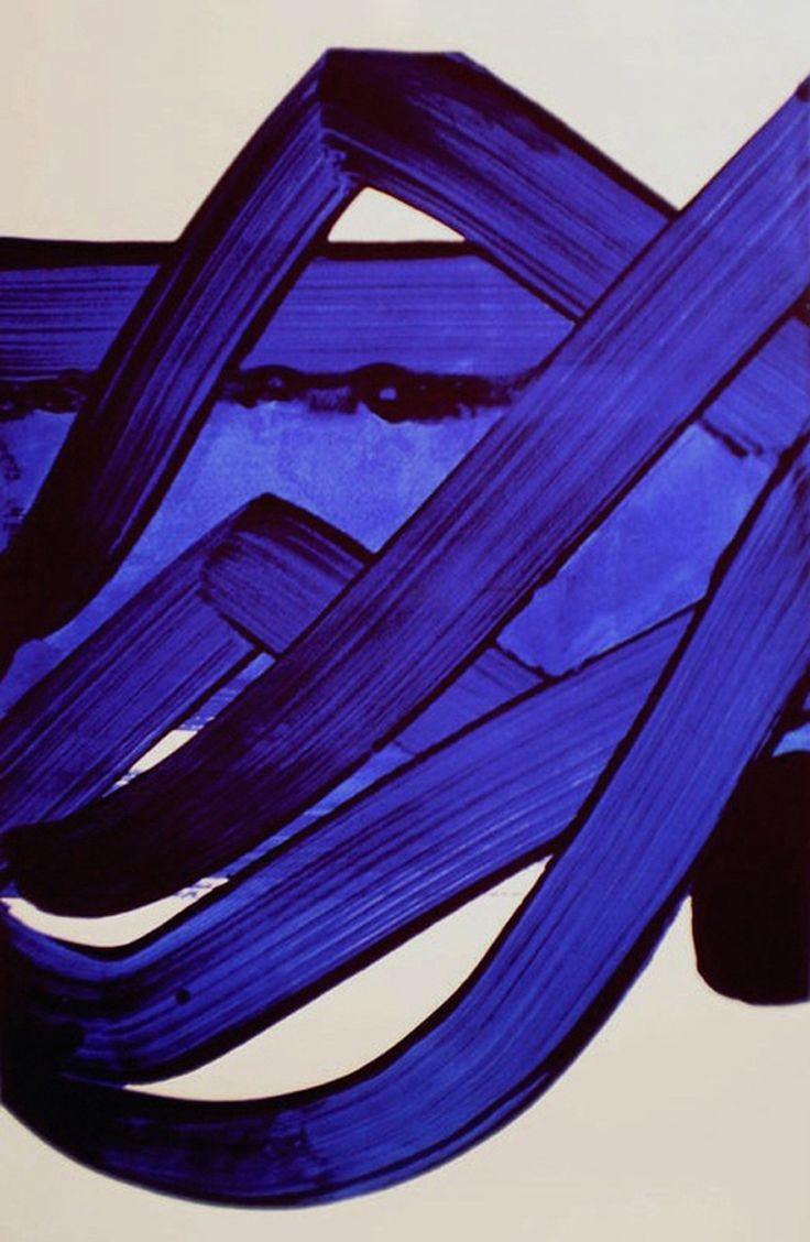 Pierre Soulages - Composition (1988)