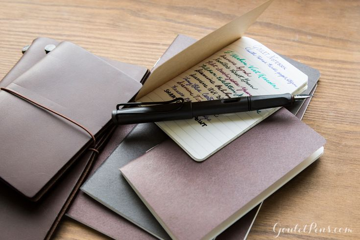 The Goulet Notebooks with Tomoé River paper are the fountain pen fans dream. Must have.