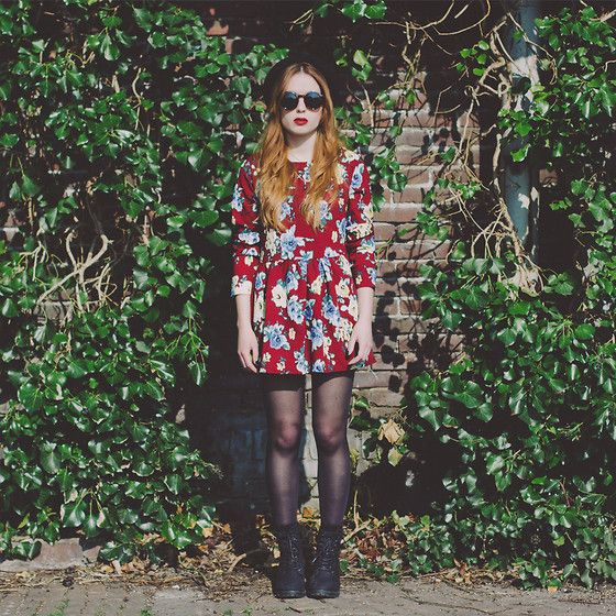Sheinside Dress, Primark Boots - Sunday girl - Silvy  J.