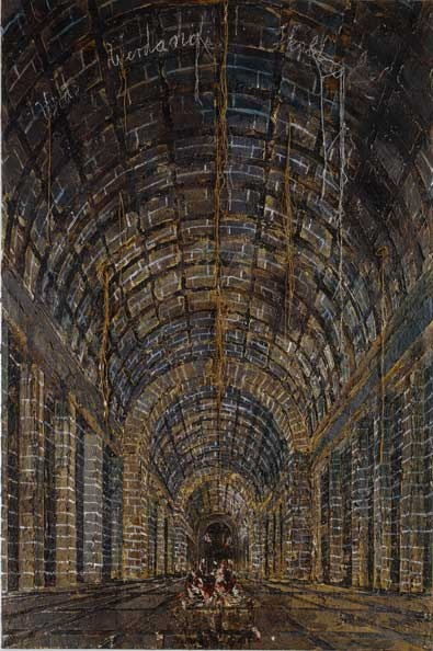 Anselm Kiefer's corridor. ♥ by #GalerieW 2014