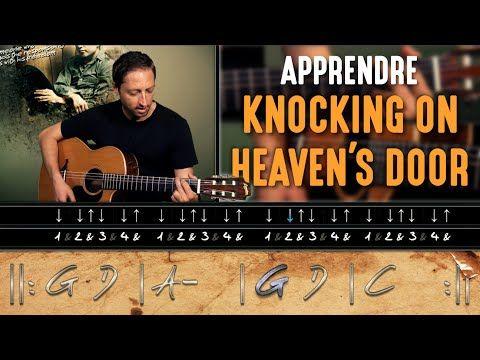 HGuitare.com : Apprendre Knockin' on Heaven's Door (Bob Dylan) à la guitare - Cours débutant - YouTube