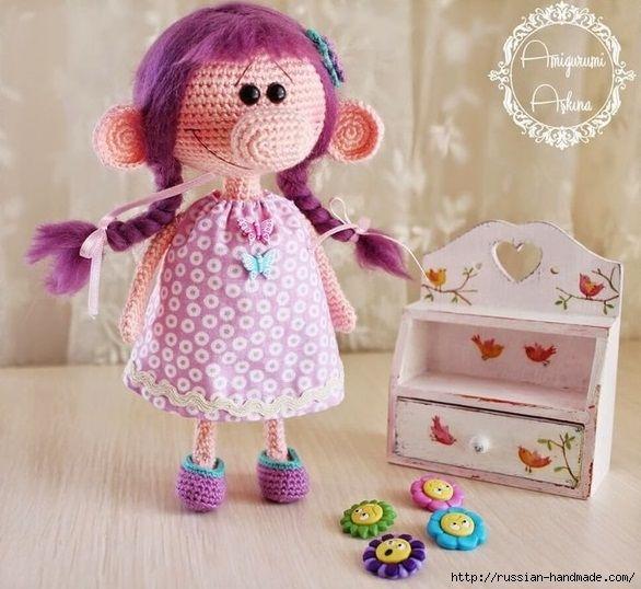 Вяжем куколку - девочку с большим носом. Описание (7) (586x538, 191Kb)