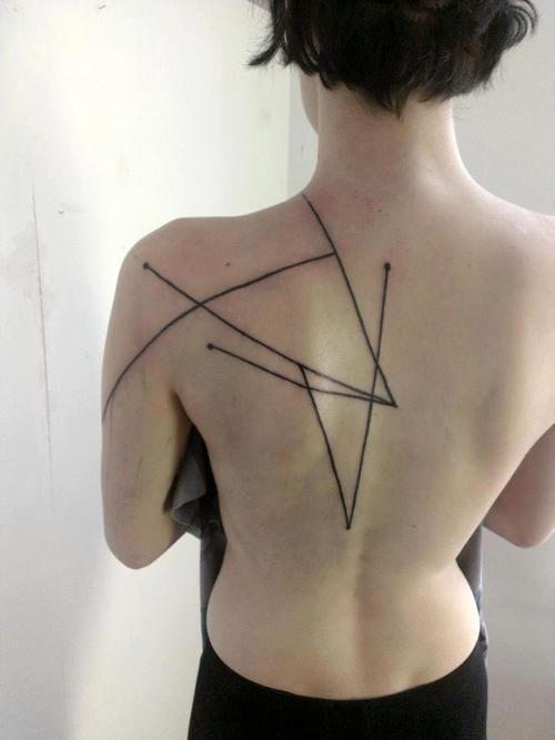 #lines #tattoo #ink