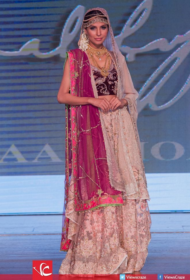 Mashaal Moazzam's Collection at Pakistan Fashion Week 8 London 2015