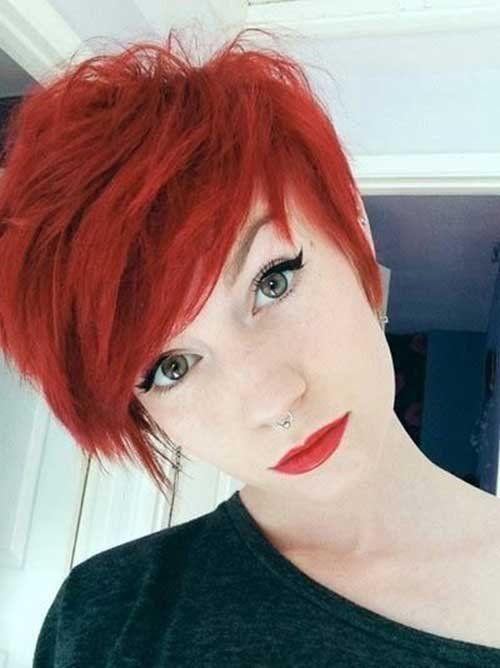 Wirklich stylischer 21+ roter Pixie Cut für Damen, #frisuren #madame #frisur #hairstyle #hairstyles #naturalhairstyles #newhairstyle #menshairstyle #…