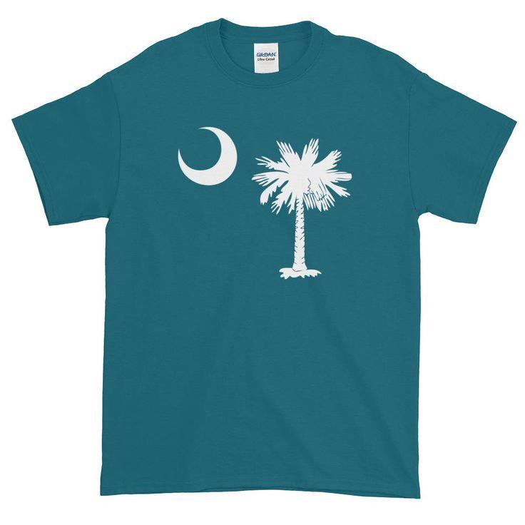 South Carolina Palmetto Moon State Flag Short sleeve t-shirt