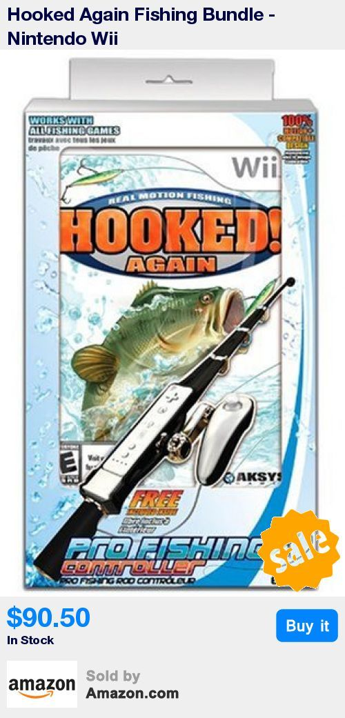 Transform your Wii Remote and Nunchuk into a full form fishing rod * Custom designed fishing rod and reel controller along with Hooked Again offers unparalleled realism - realistic casting, reeling and hook setting action * Wii MotionPlus Compatible * Bundle includes Fishing Rod & Game * Compatible with Wii Motion Plus * 12:18 Jan 31 2017