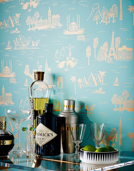 rifle paper co.'s 'city toile' from hygge & west / sfgirlbybay