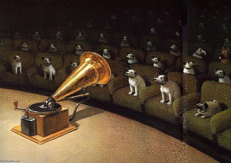 'Ihre Master-Voice-' von Michael Sowa