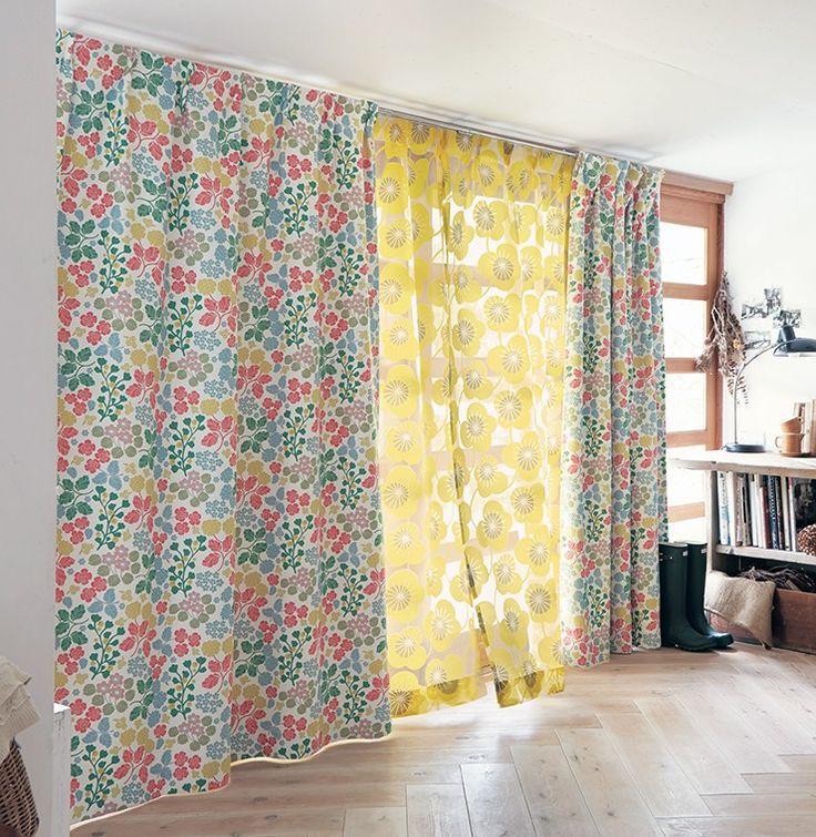 春らしい、明るいカーテン【NEW】北欧インテリア~FEEL WELL~- STYLE LOOK